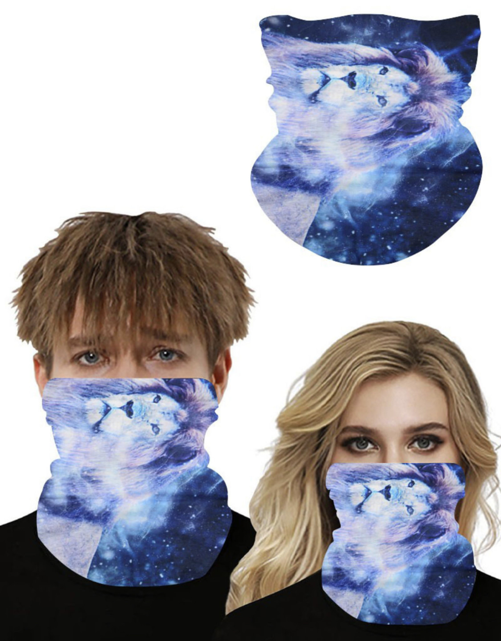 GAITOR COOLING MOISTURE LION GALAXY MASK UNISEX