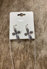 NECKLACE WESTERN STYLE SPOON LOOK NECKLACE SET