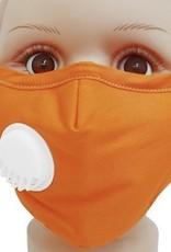 FACE MASK COTTON EZ BREATHE RESPIRATOR W/  FILTER POCKET SOLID CHILD