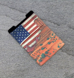 PHONE POCKET STRETCH DESERT/AMERICAN FLAG