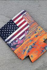 KOOZIE SERAPE FLAG SOUTHWEST LANDSCAPE