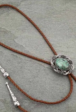 NECKLACE BOLO WITH NATURAL TURQ STONE