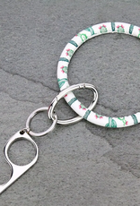 KEY RING CACTUS BANGLE CONTACTLESS/ DOOR OPENER SAFETY KEY