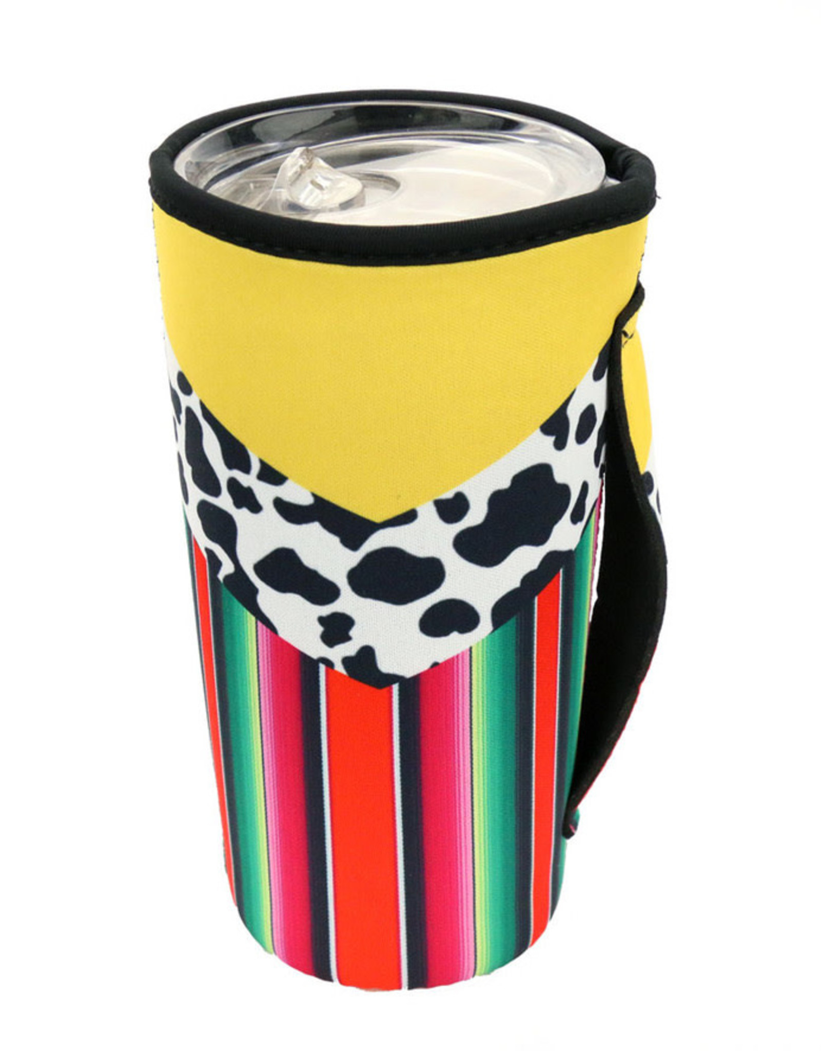 DRINK SLEEVE KOOZIE 20 - 30 OZ TUMBLER COOLER NEOPRENE WITH HANDLE