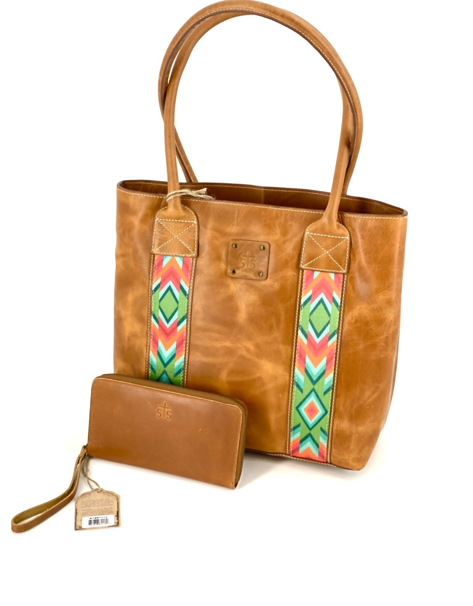 PURSE STS33779 BASIC BLISS TOTE BUFF CONCEALED CARRY PURSE ONLY