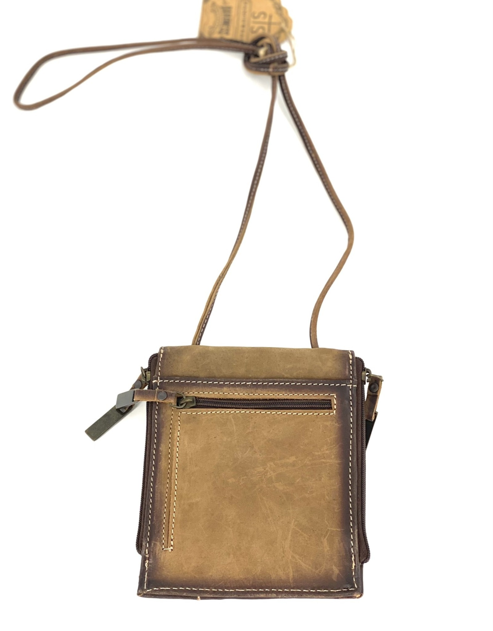 PURSE STS COWHIDE EURO CROSSBODY PURSE LEATHER