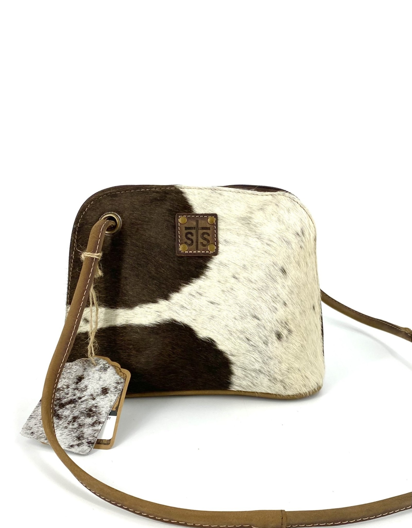 PURSE STS35757 COWHIDE CROSSBODY CLASSIC LEATHER CONCEALED CARRY