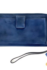WALLET STS63074 DENIM BLUE LEATHER BENTLEY LEATHER