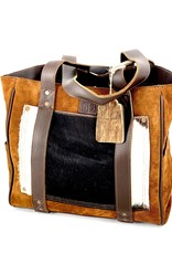 PURSE STS38092 COWHIDE SHERIDAN TOTE LEATHER CONCEALED CARRY