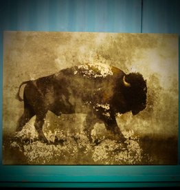 WALL ART WE LOVE BECAUSE... or BUFFALO