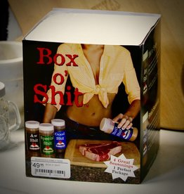 SHIT SPICES BOX O' SHIT