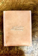 LEOPARD CARD HOLDER MCINTIRE SADDLERY LEATHER