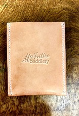 LEATHER CARD HOLDER MCINTIRE SADDLERY LEATHER