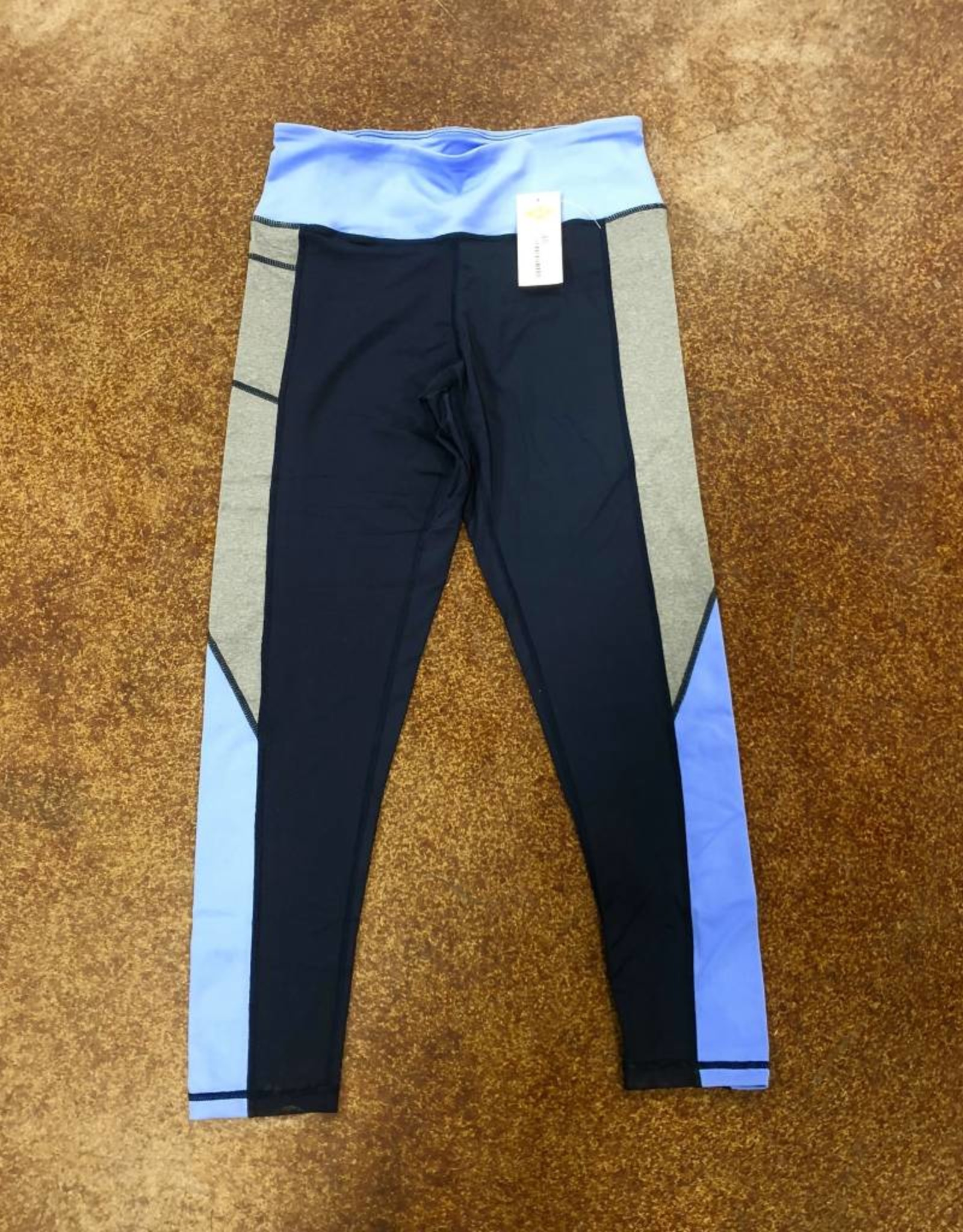 CINCH WNS LEGGING NAVY/GREY MJU7841001