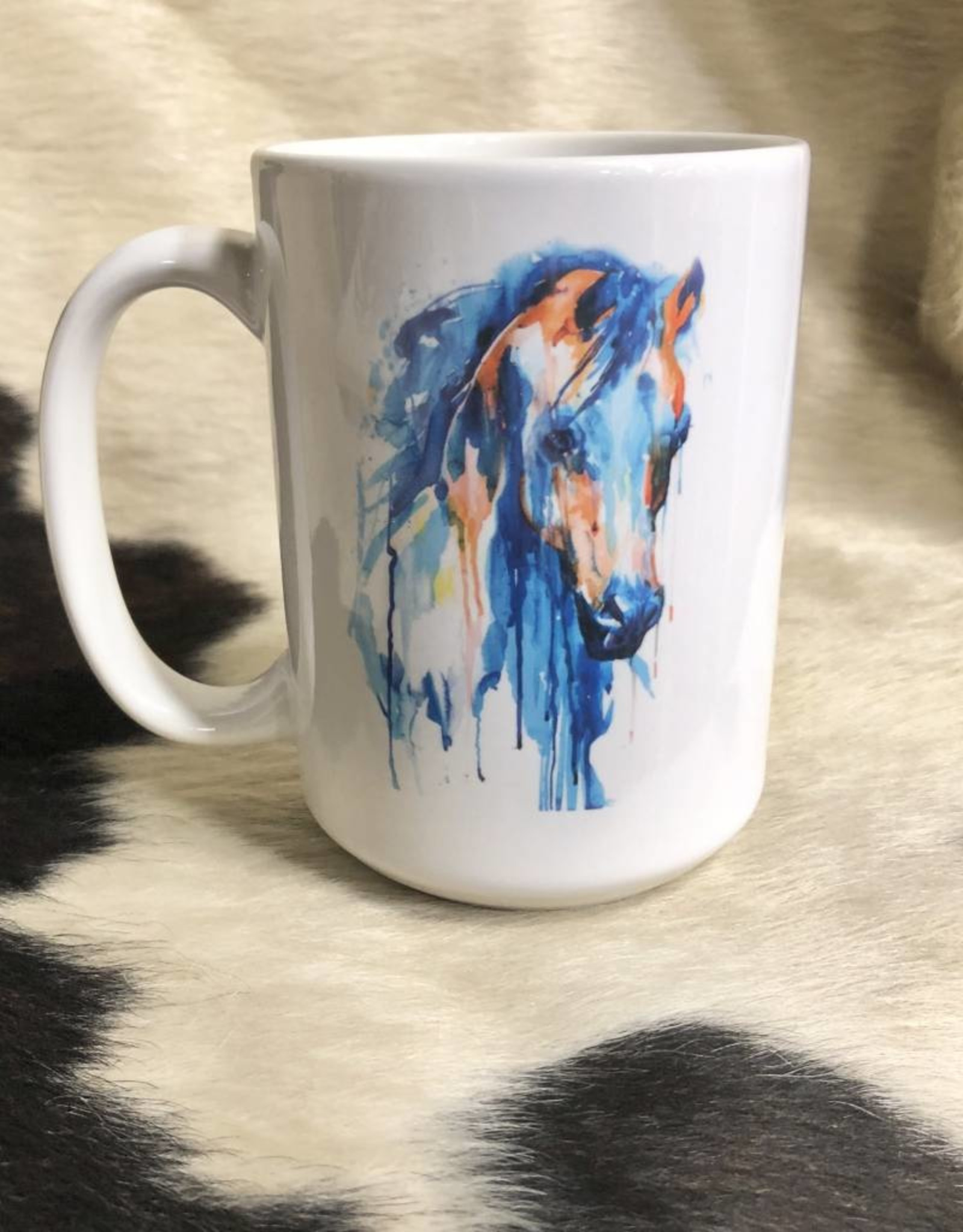 Coffee Mug Painted Horse Image On Both Sides Robinson S Family Feed