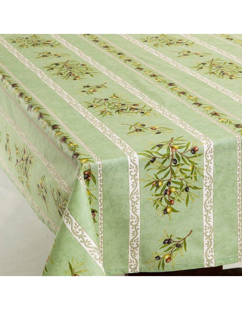 Acrylic-coated Olives Green