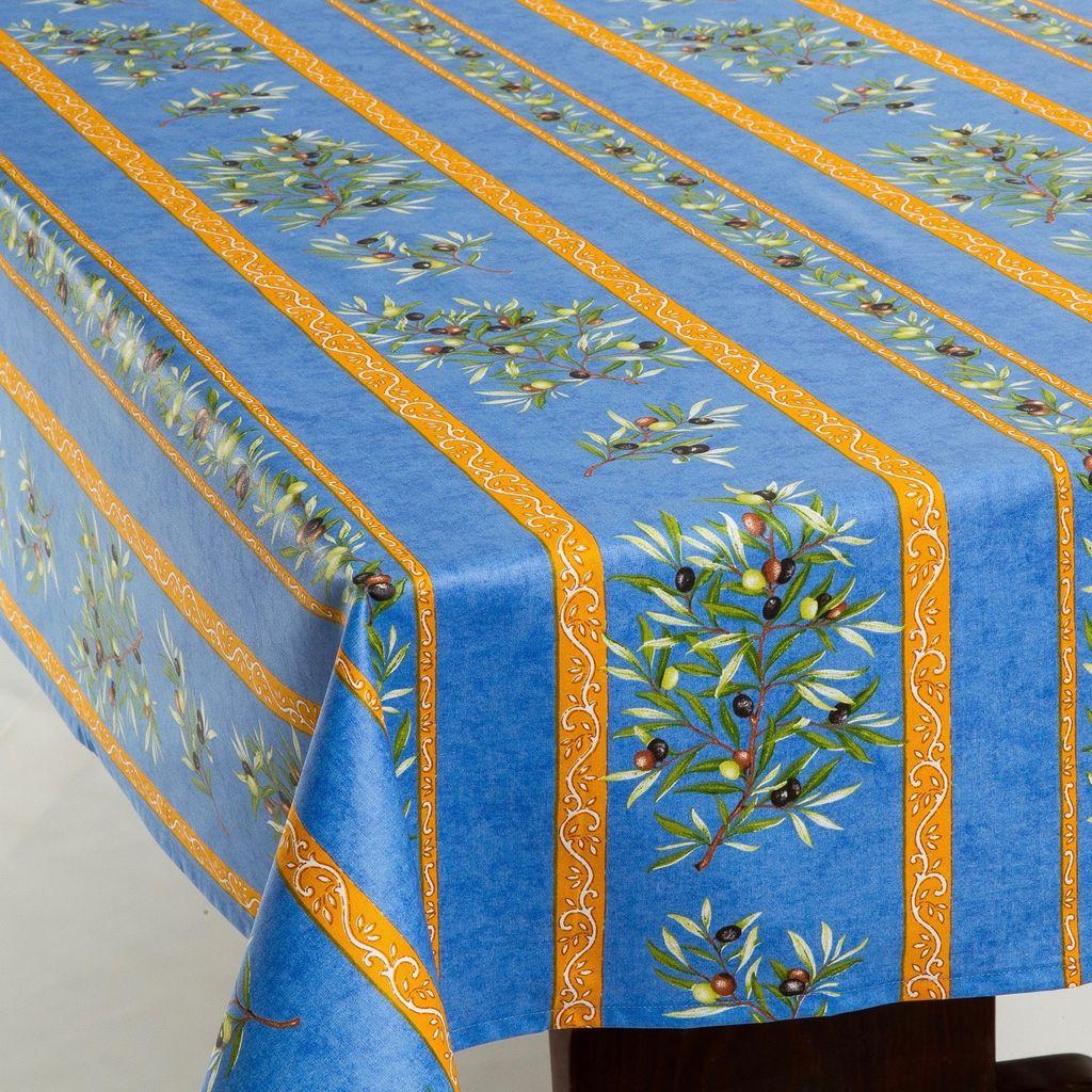 Acrylic Coated Olives Blue Amelie Michel Llc