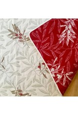 Auriol All Over Reversible Jacquard Red