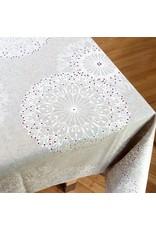 Acrylic-coated Cleome, White