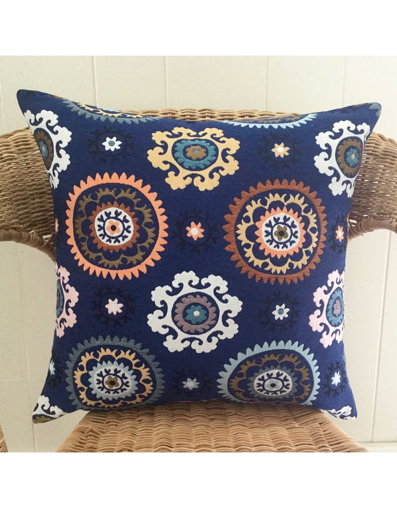 Boukhara Blue Pillow