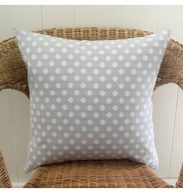 Lorenzo Light Grey Jacquard Pillow