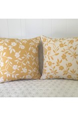 Mercurio Yellow Jacquard Pillow