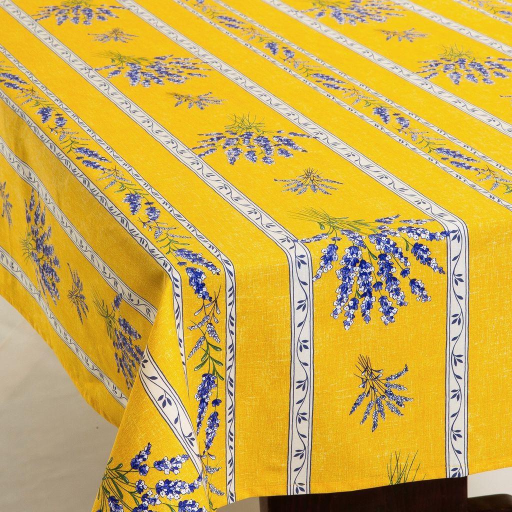 Acrylic Coated Valensole Yellow Amelie Michel Llc