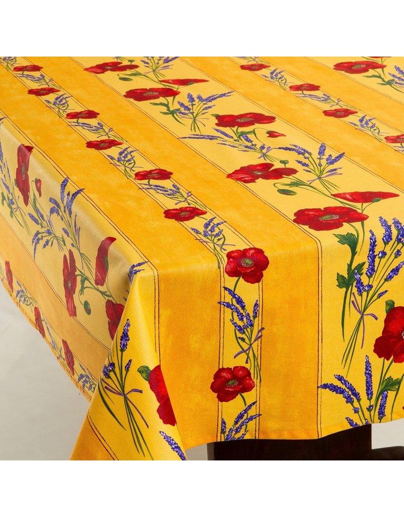 Acrylic-coated Poppies Yellow