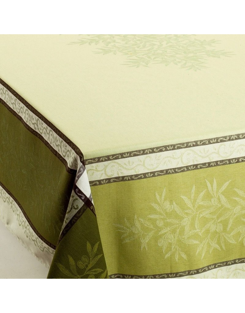 Olives Jacquard Green