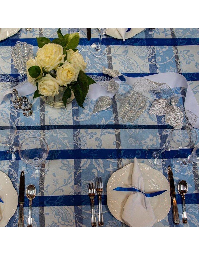 Florentine Jacquard, Blue