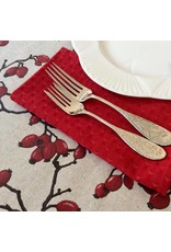 Napkin Triangle Red