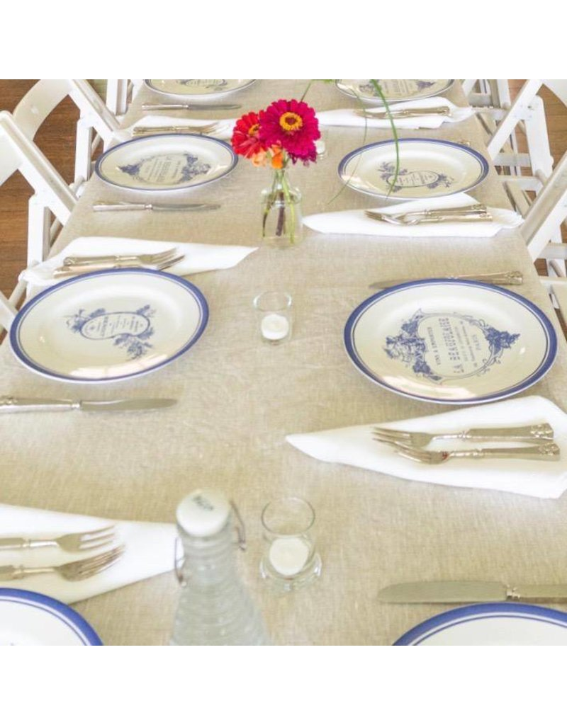100% Linen Tablecloth