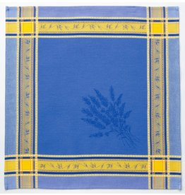 Napkin Senanque Jacquard Blue