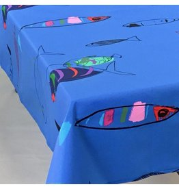Acrylic-coated Fish Blue