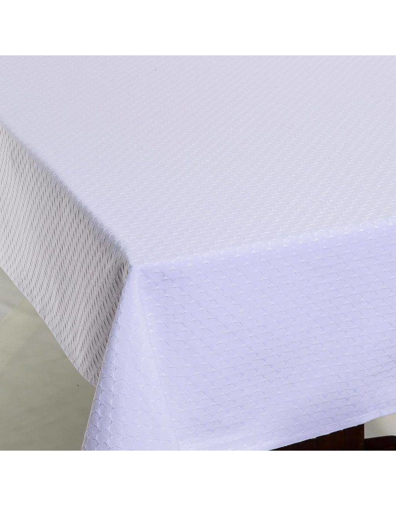 Triangle Jacquard White