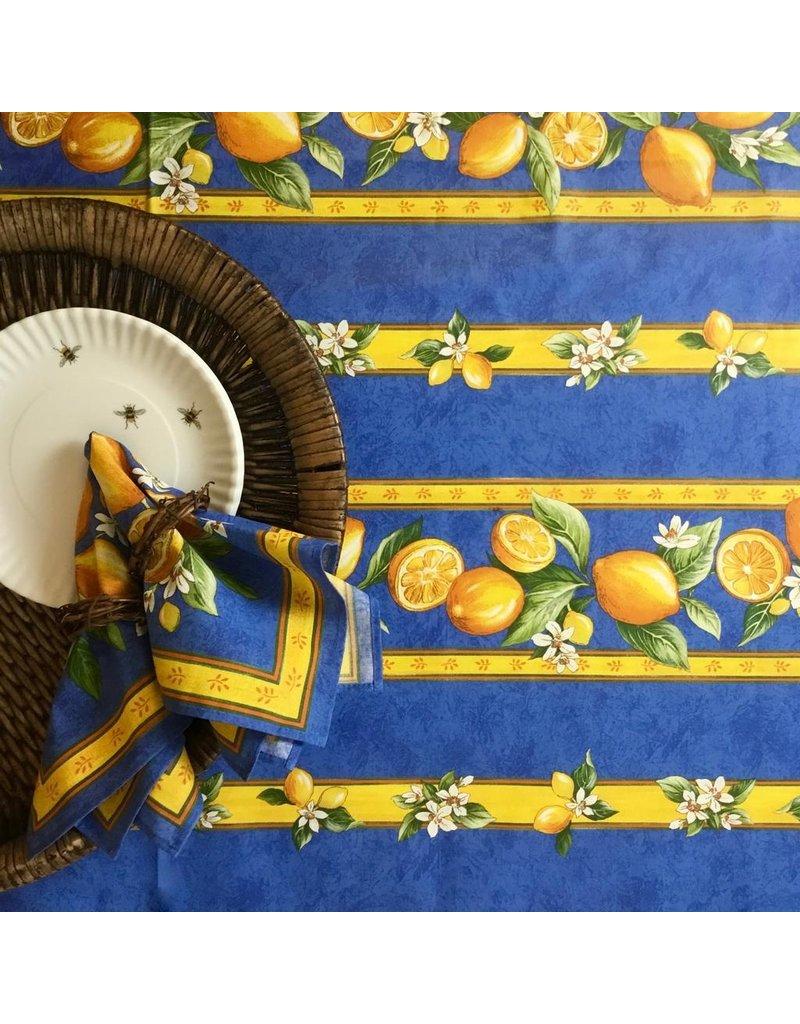 Acrylic-coated Lemons Blue