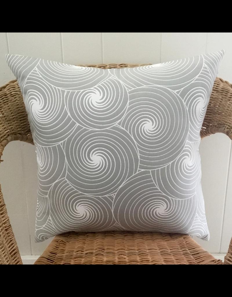 Julia Grey Jacquard Pillow