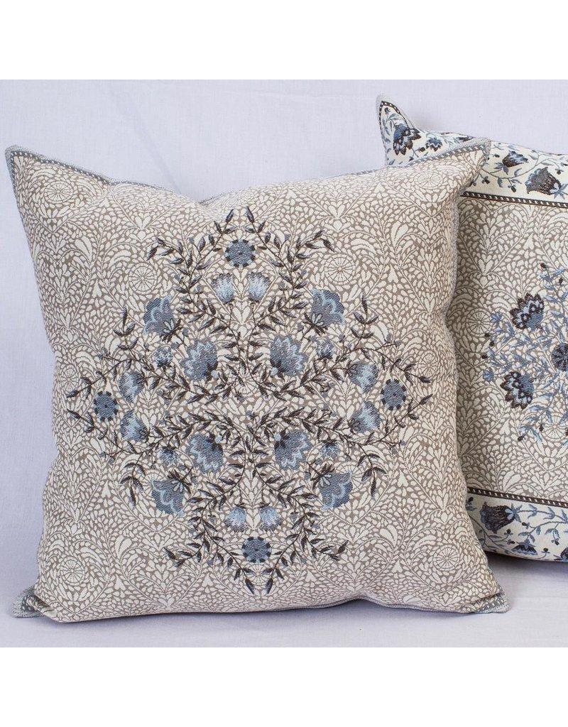 Aubrac Jacquard Blue Deco Pillow