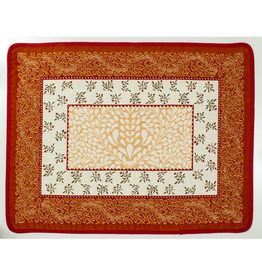 Aubrac Jacquard Placemat, Orange