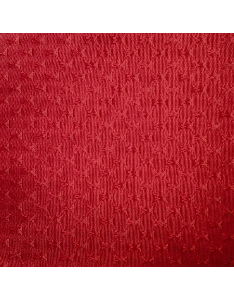 Triangle Jacquard, Red