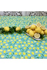 Acrylic-coated Mini Citrons, Turquoise