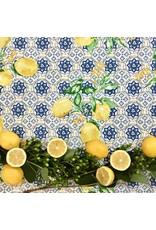 Acrylic-coated Gorbio Lemons, Blue