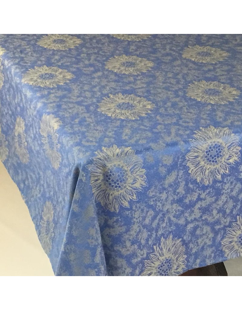 Sunflower Jacquard, No Border, Blue