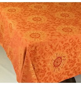 Sunflower Jacquard, No Border, Red