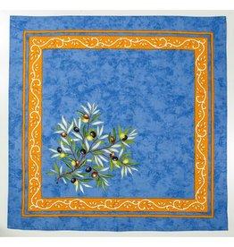 Napkin, Olives, Blue