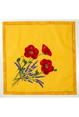 Napkin Poppies Yellow