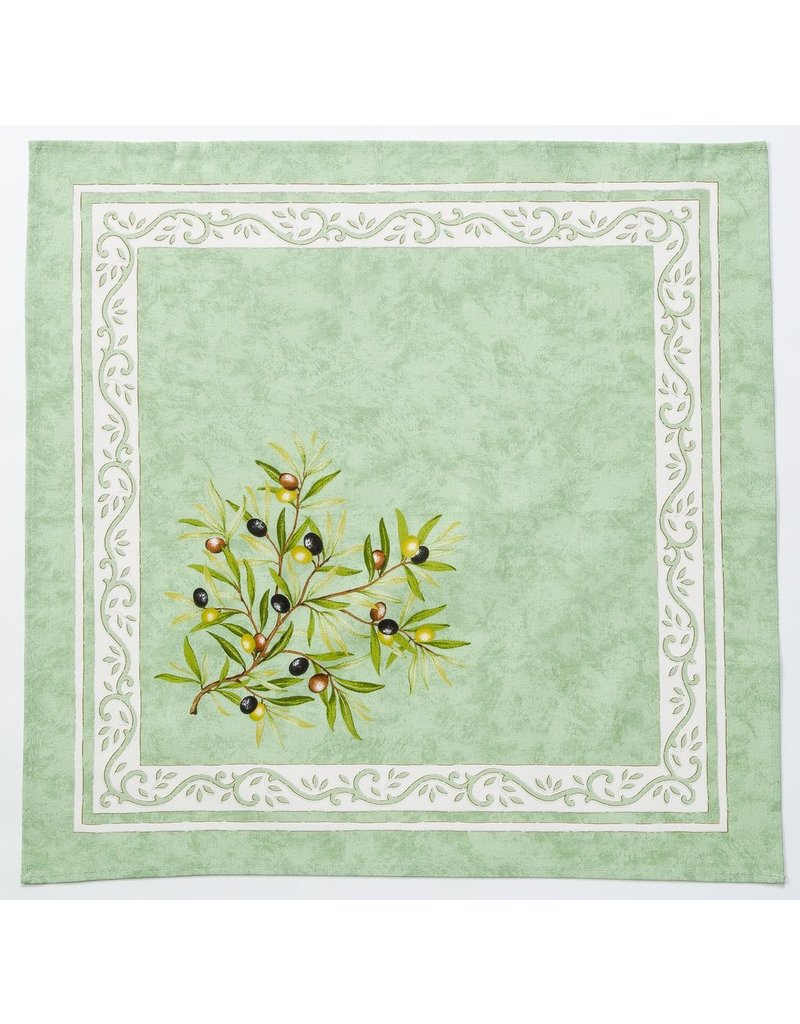 Napkin Olives Green