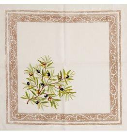 Napkin Olives Ivory