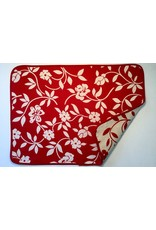 Mercurio Reversible Jacquard Placemat, Red