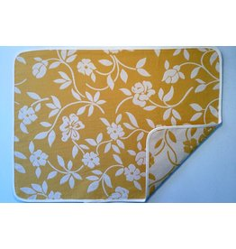 Mercurio Reversible Jacquard Placemat, Yellow